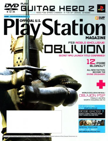Official U.S. PlayStation Magazine Issue 110 (November 2006)