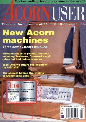 Acorn User 159 (September 1995)