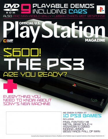 Official U.S. PlayStation Magazine Issue 106 (July 2006)