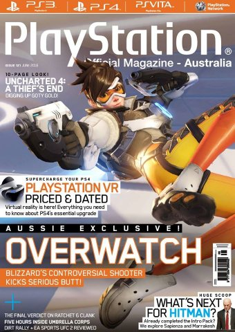 PlayStation Official Magazine Issue 121 (June 2016)