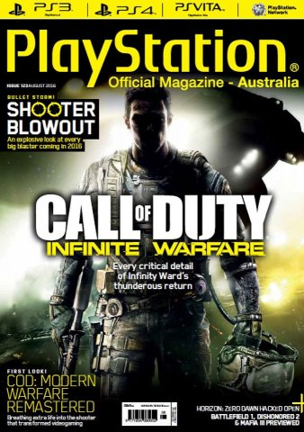 PlayStation Official Magazine Issue 123 (August 2016)