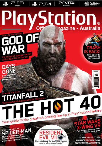 PlayStation Official Magazine Issue 124 (September 2016)