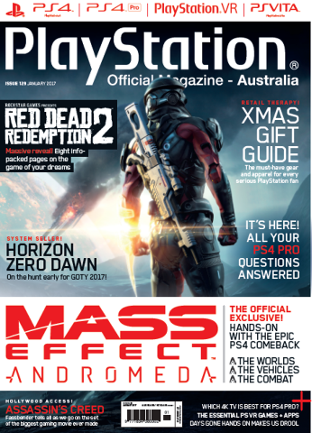 PlayStation Official Magazine Issue 129 (January 2017)