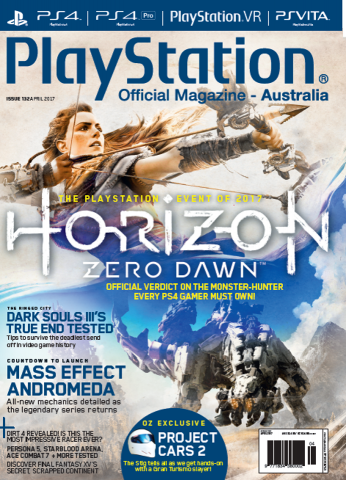 PlayStation Official Magazine Issue 132 (April 2017)