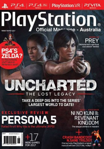 PlayStation Official Magazine Issue 133 (May 2017)