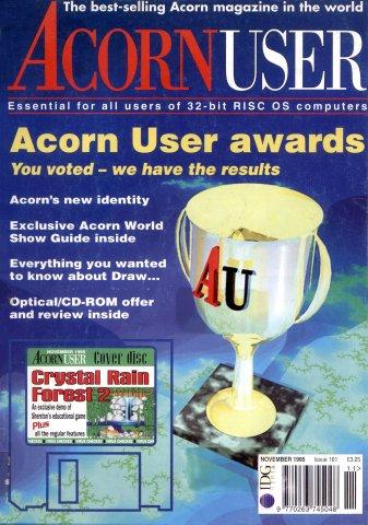 Acorn User 161 (November 1995)