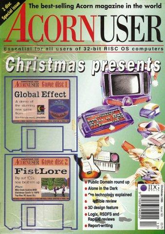 Acorn User 163 (Christmas 1995)