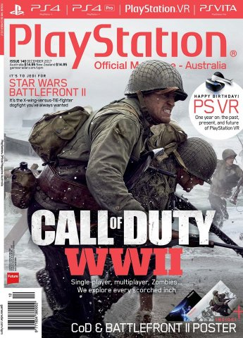 PlayStation Official Magazine Issue 140 (December 2017)