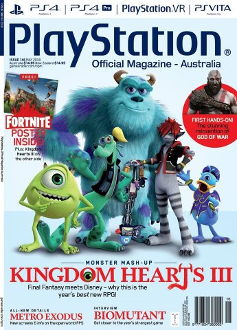 PlayStation Official Magazine Issue 146 (May 2018)