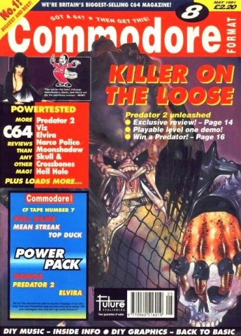 Commodore Format Issue 08 (May 1991)