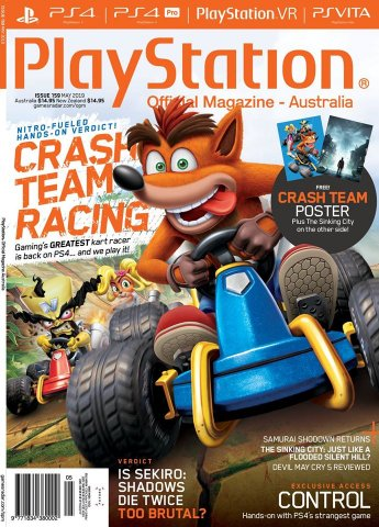 PlayStation Official Magazine Issue 159 (May 2019)