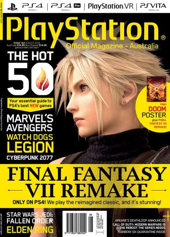 PlayStation Official Magazine Issue 162 (August 2019)