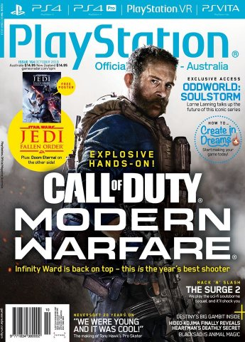 PlayStation Official Magazine Issue 164 (October 2019)