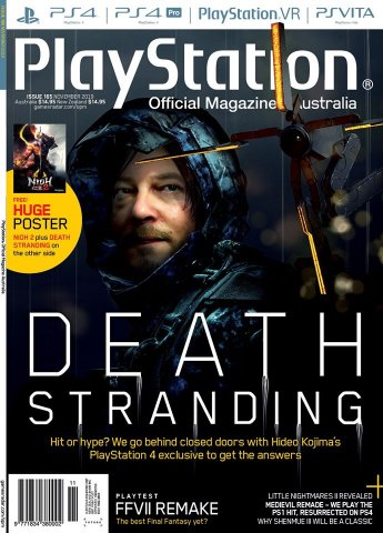 PlayStation Official Magazine Issue 165 (November 2019)