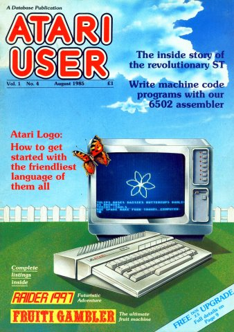 Atari User Vol. 01 No. 04 (August 1985)