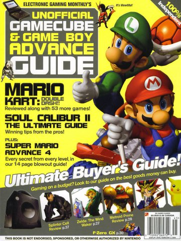 Unofficial GameCube & Game Boy Advance Guide