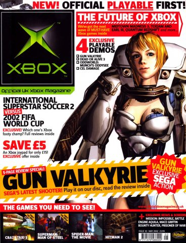 Official UK Xbox Magazine Issue 03 - May 2002
