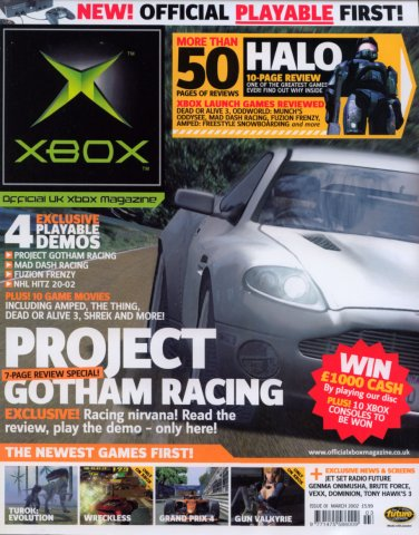 Official UK Xbox Magazine Issue 01 - March 2002