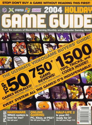 2004 Holiday Game Guide