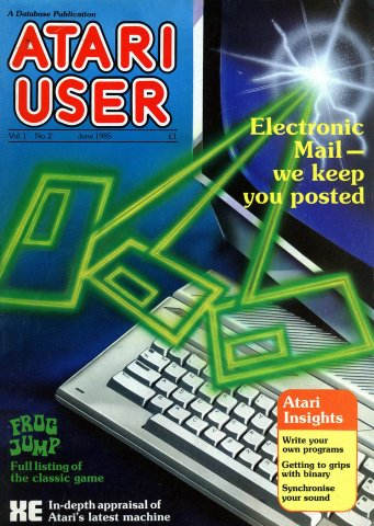 Atari User Vol. 01 No. 02 (June 1985)
