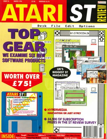 Atari ST Review Issue 24 (March 1994)
