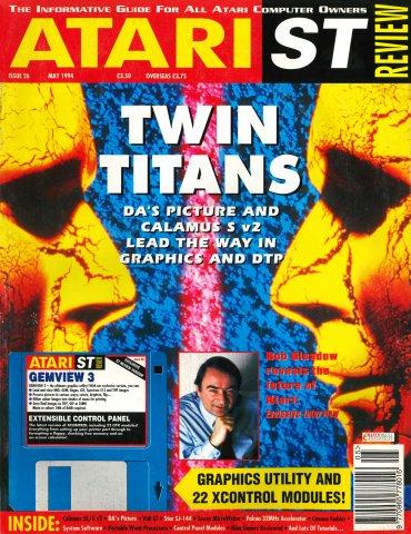 Atari ST Review Issue 26 (May 1994)