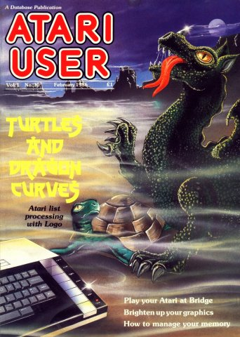 Atari User Vol. 01 No. 10 (February 1986)