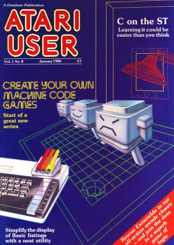 Atari User Vol. 01 No. 09 (January 1986)