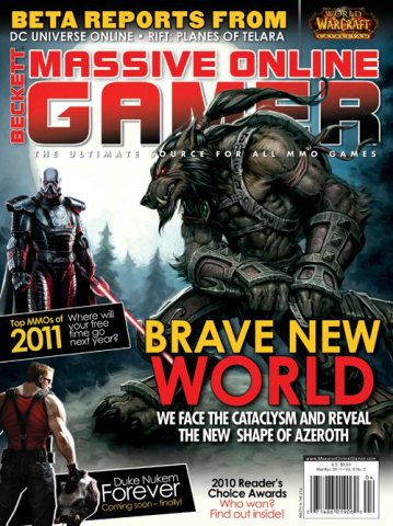 Beckett Massive Online Gamer (March / April 2011)