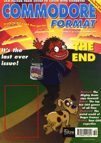 Commodore Format Issue 61 (October 1995)