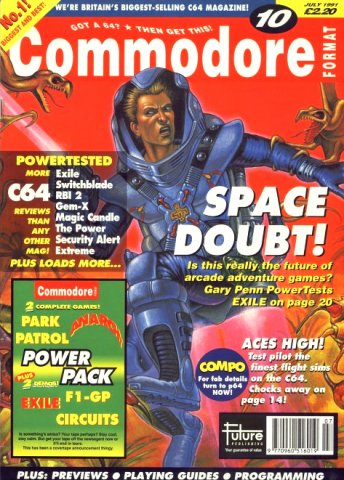 Commodore Format Issue 10 (July 1991)