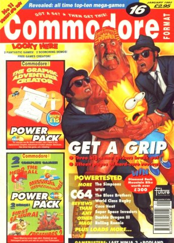 Commodore Format Issue 16 (January 1992)