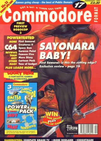 Commodore Format Issue 17 (February 1992)