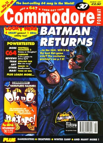Commodore Format Issue 30 (March 1993)