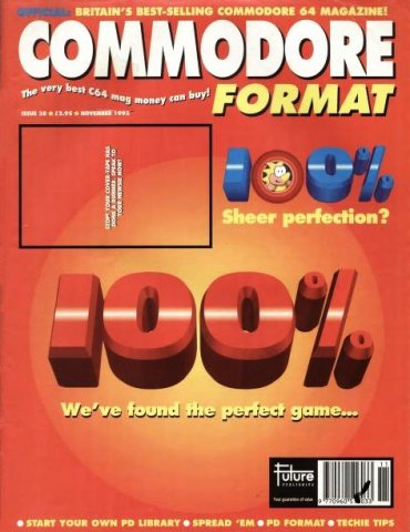 Commodore Format Issue 38 (November 1993)