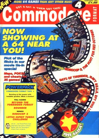 Commodore Format Issue 04 (January 1991)