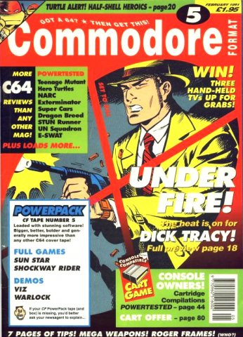 Commodore Format Issue 05 (February 1991)