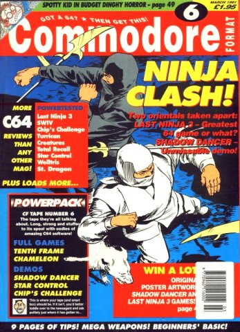 Commodore Format Issue 06 (March 1991)