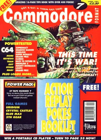 Commodore Format Issue 07 (April 1991)