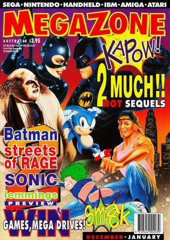 MegaZone 25 (December 1992 / January 1993)