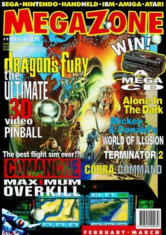 MegaZone 26 (February / March 1993)