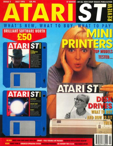Atari ST Review Issue 03 (July 1992)