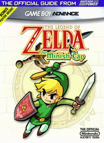 The Legend of Zelda The Minish Cap Nintendo Player's Guide