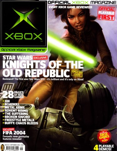 Official UK Xbox Magazine Issue 20 - September 2003