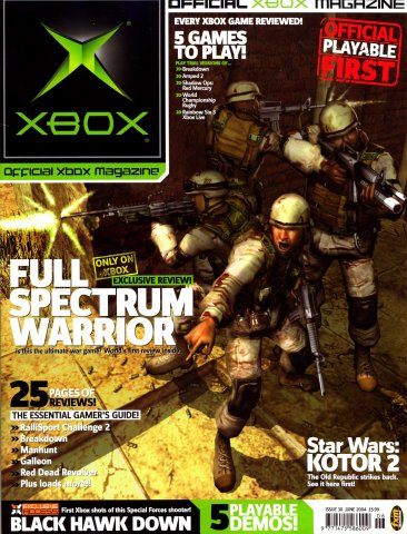 Official UK Xbox Magazine Issue 30 - June 2004