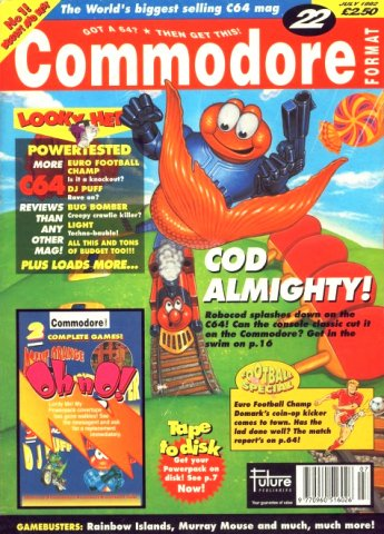 Commodore Format Issue 22 (July 1992)