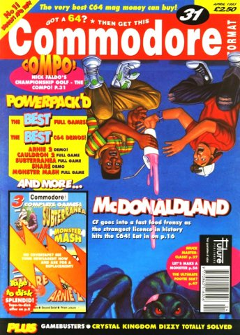 Commodore Format Issue 31 (April 1993)