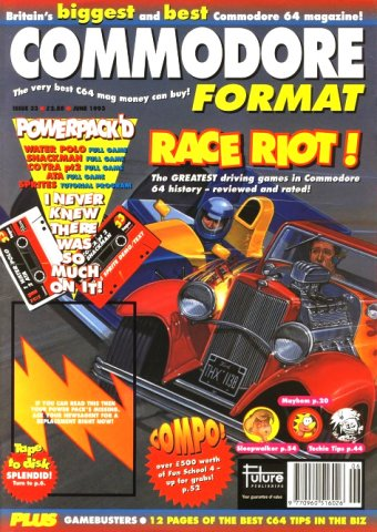 Commodore Format Issue 33 (June 1993)