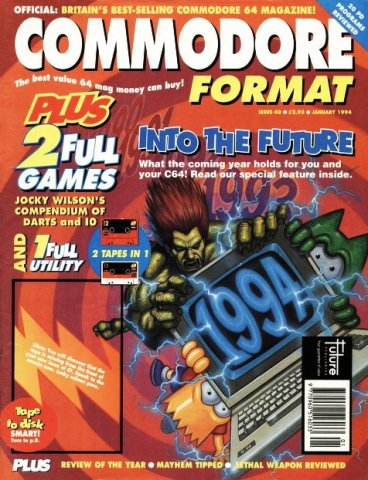 Commodore Format Issue 40 (January 1994)