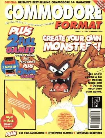 Commodore Format Issue 41 (February 1994)
